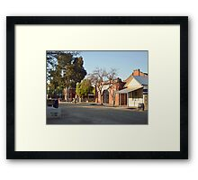 Port of Echuca Framed Print