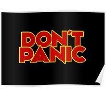 Dont Panic - The Hitchhiker's Guide to the Galaxy Poster