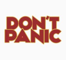 Dont Panic - The Hitchhiker's Guide to the Galaxy One Piece - Long Sleeve