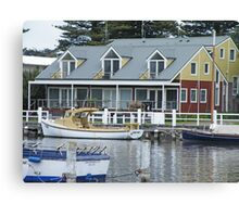 Home on the River Canvas Print