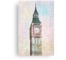 Elizabeth Tower Canvas Print