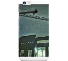 cranes in the night iPhone Case/Skin