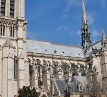 Notre Dame, Paris Sticker