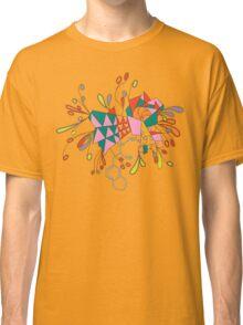 psychedelic mandala Classic T-Shirt