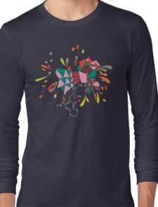 psychedelic mandala Long Sleeve T-Shirt