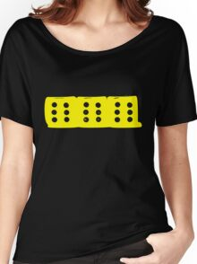 666 Yellow Women's Relaxed Fit T-Shirt