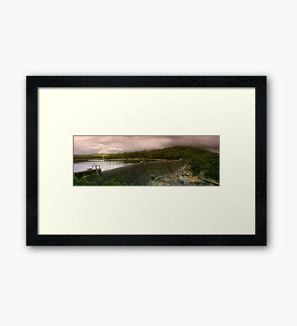 Collie Dam - Western Australia  Framed Print