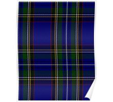 00799 West Coast WM 1105 Tartan  Poster