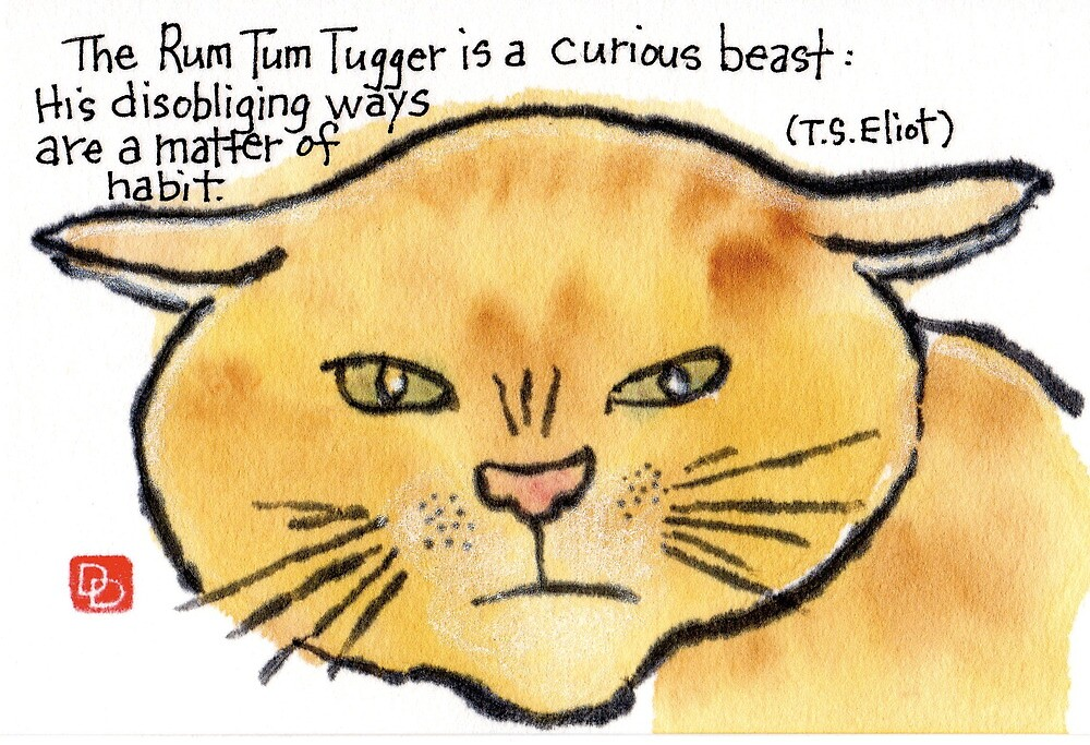 Rum Tum Tugger, The Disobliging Cat (Eliot's Cats Series) by dosankodebbie