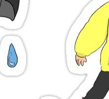 Rainy Mikey  Sticker