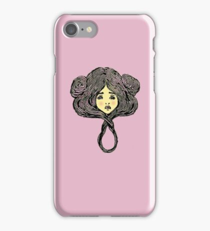 Flowers in their hair 3 iPhone Case/Skin