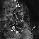 Oskar with lolly. by Baska