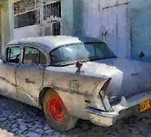 Old Buick, Trinidad, Cuba by buttonpresser