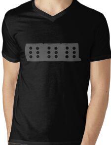 666 Grey Mens V-Neck T-Shirt