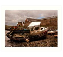 The Boat Jennifer - Paddy's Hole Art Print