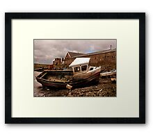 The Boat Jennifer - Paddy's Hole Framed Print