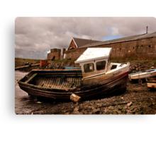 The Boat Jennifer - Paddy's Hole Canvas Print