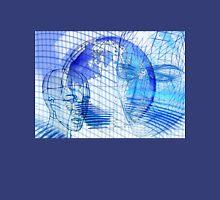 Blue Scape Head Wire  Unisex T-Shirt