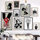 prints in a room by Loui  Jover