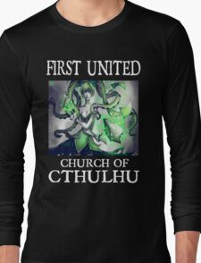 Cthulhu Magic Tentacle Girl Long Sleeve T-Shirt