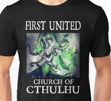 Cthulhu Magic Tentacle Girl Unisex T-Shirt