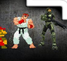 Evolution Of Games Sticker