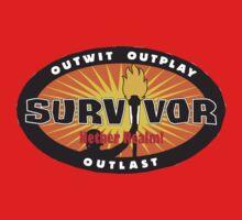 Survivor Nether Realm Logo Shirt by Daftpunkfan5cp