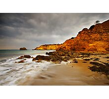 Rocky Point at Torquay Photographic Print
