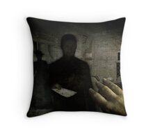 The Receiver Throw Pillow