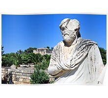 Greek statue. Poster