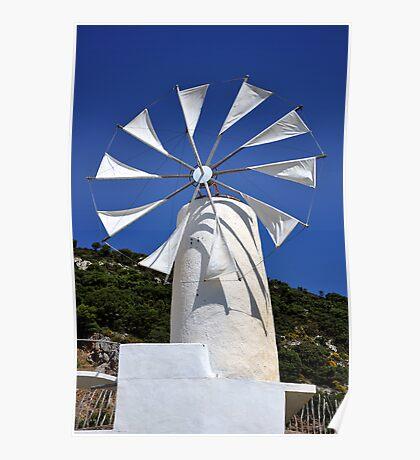 Windmill. Poster