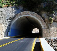 Mountain tunnel. by FER737NG