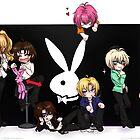 Gravitation playboys by Seguchi-sama