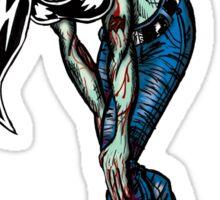 Zombie Lass Sticker