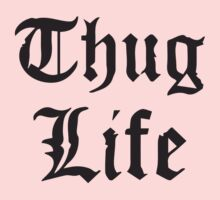 Thug Life Rap Kids Clothes