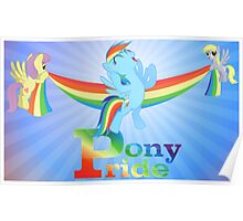 Pony Pride Poster Poster