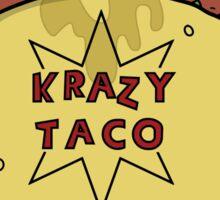 Krazy Taco Sticker