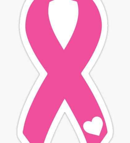 breast cancer ribbon Sticker