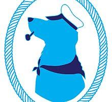 Sailor Dog Bust by sophonarope