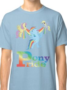 Pony Pride - with text Classic T-Shirt