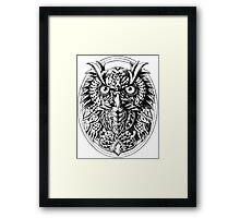 Owl Portrait Framed Print