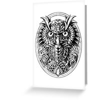 Owl Portrait Greeting Card