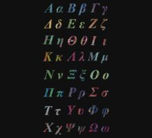 Greek Alphabet by joancaronil