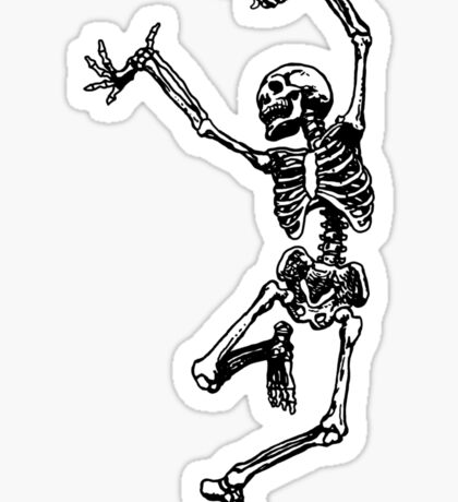 Dancing skeleton  Sticker