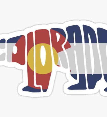 Colorado Bear Flag Sticker