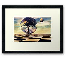 Surrealitree Framed Print