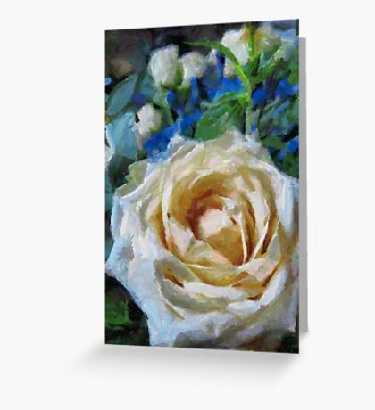 Champagne Roses Greeting Card