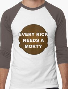 Every Rick Needs A Morty Men's Baseball ¾ T-Shirt