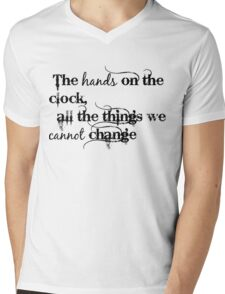 All The Things We Cannot Change Mens V-Neck T-Shirt
