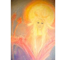 Angel of the sun Photographic Print